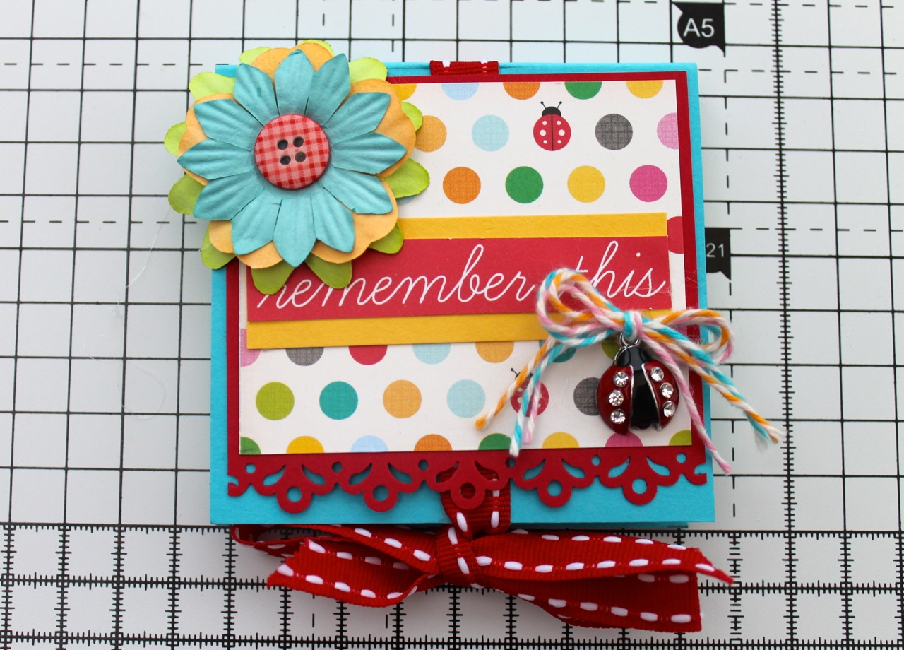 Step 9 – Perfect Post-It Notes Holder