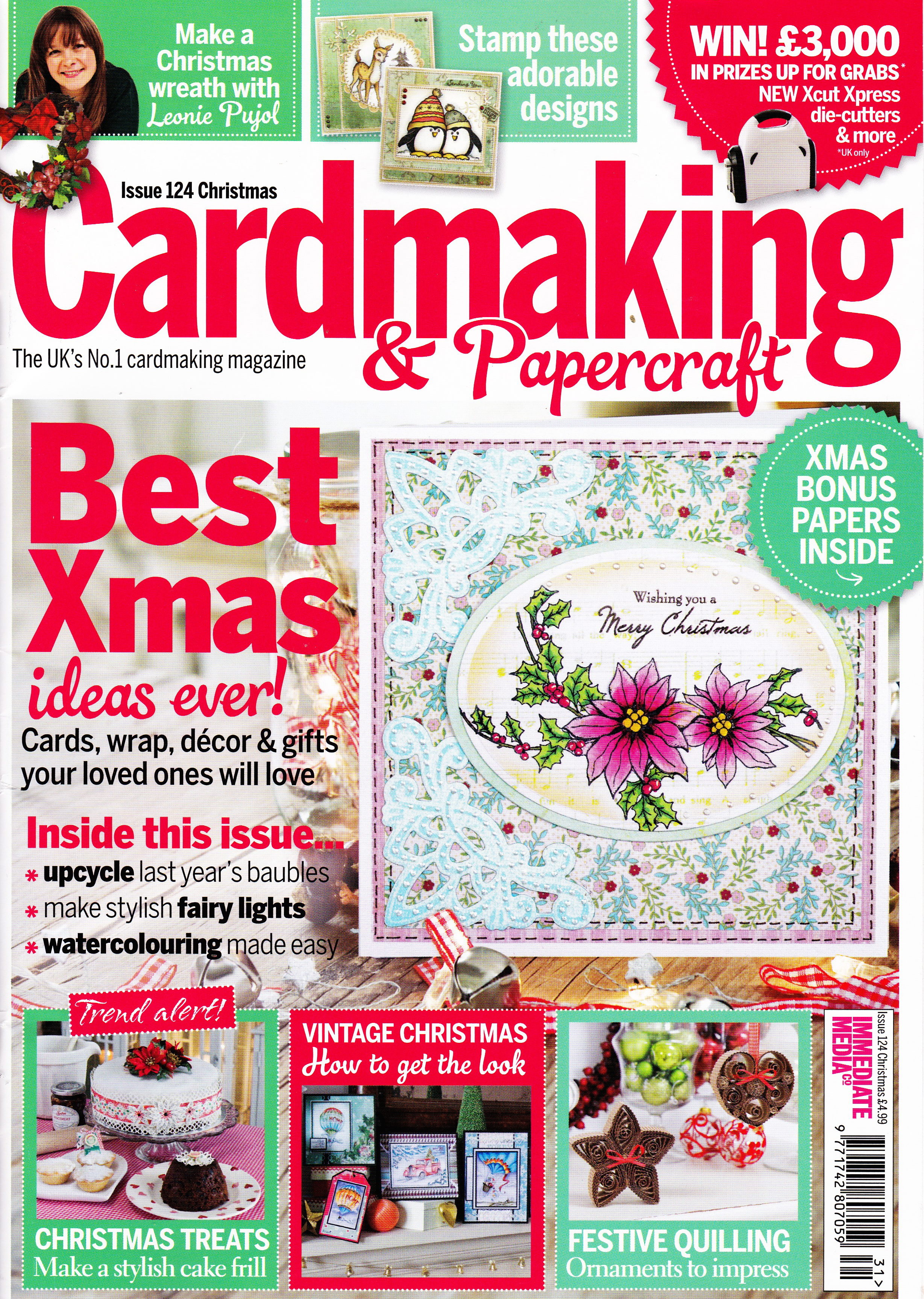 Cardmaking & papercraft Magazine – Issue 124