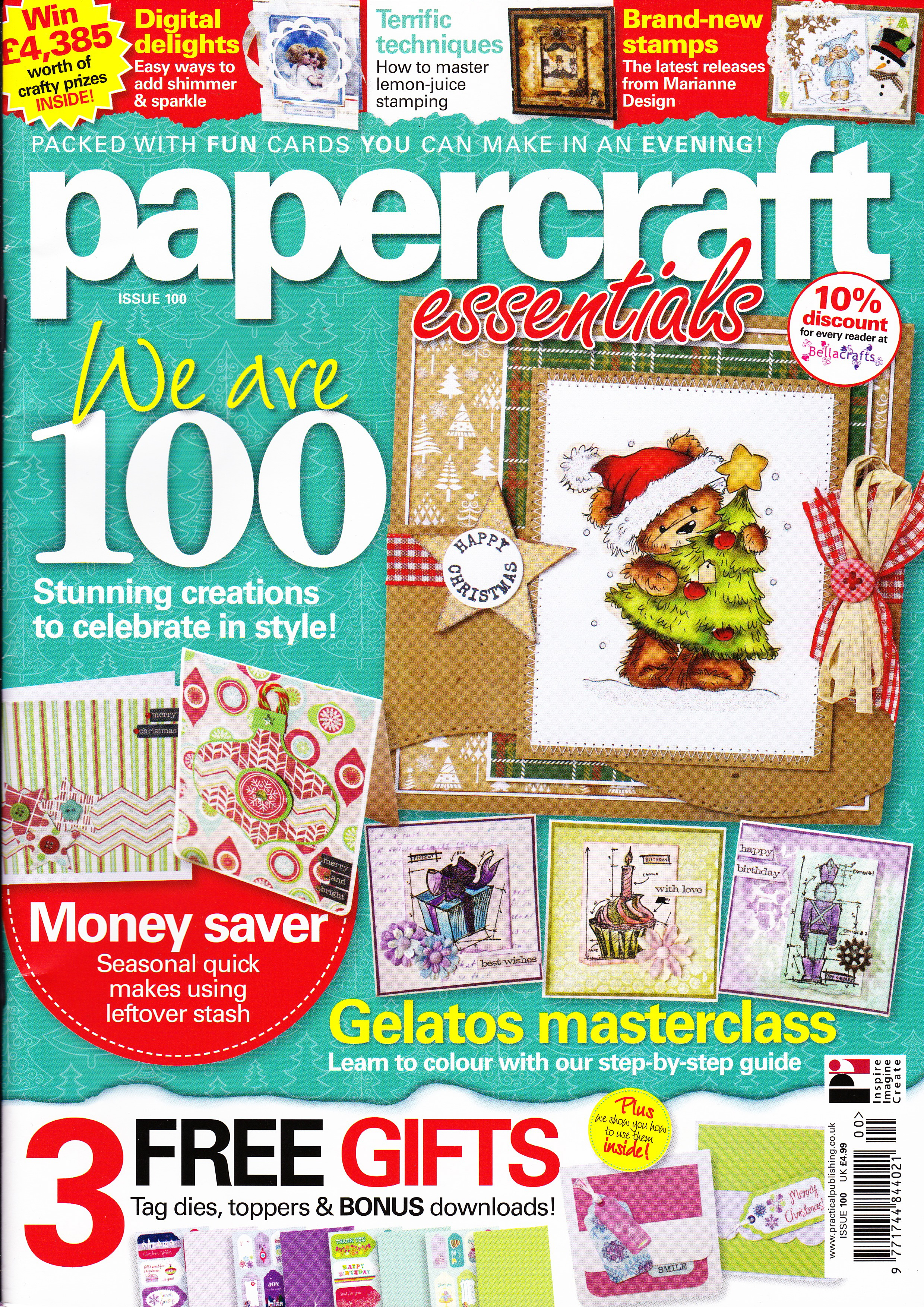Papercraft Essentials magazine – Issue 100