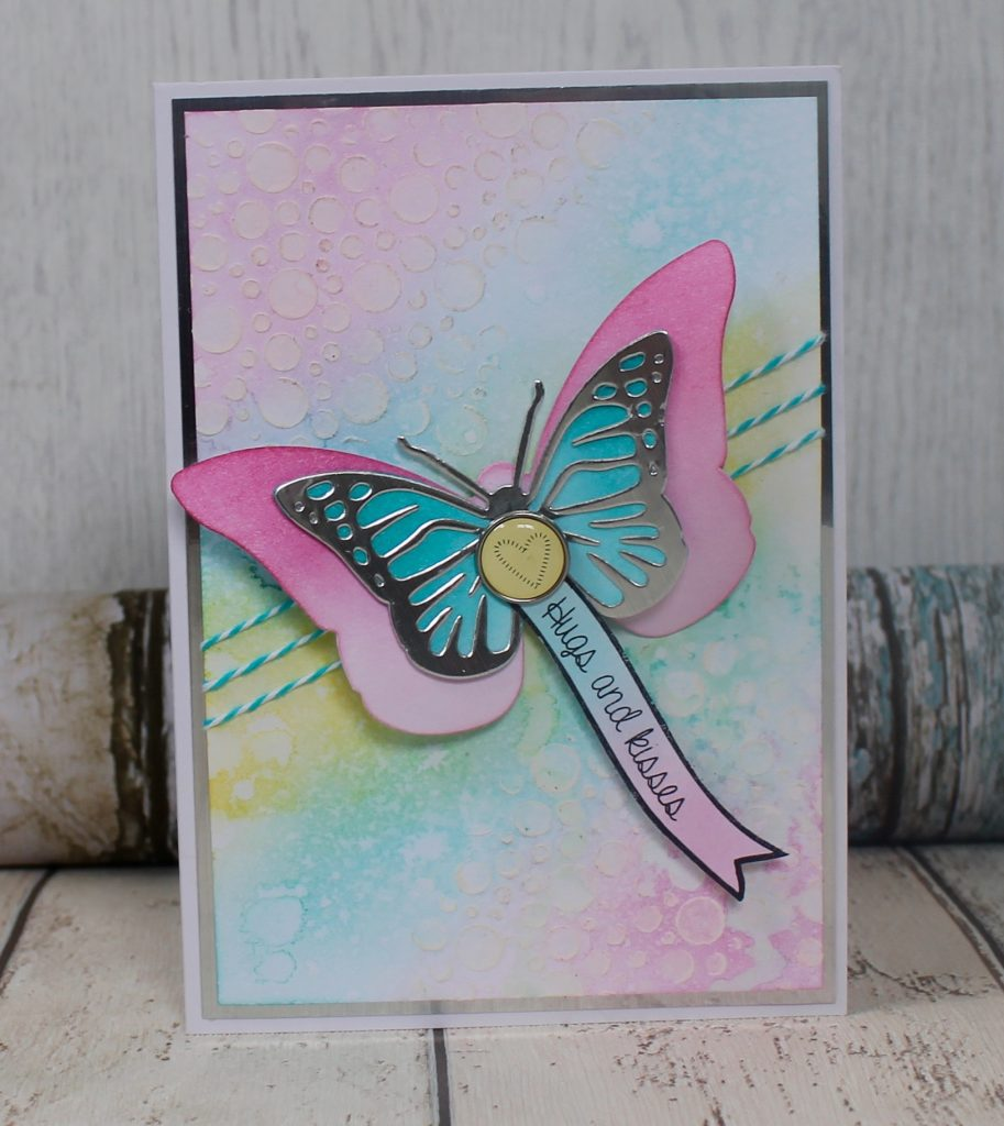 How to create a Sizzix butterfly card
